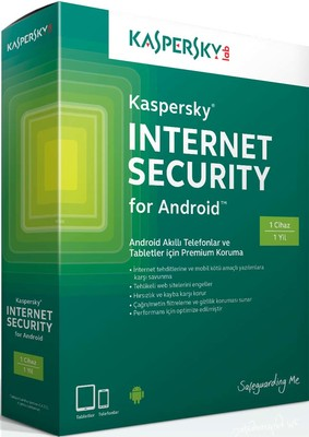 Kaspersky İnternet Security For Android 1K-1Y