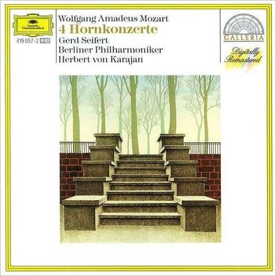 Mozart: 4 Horn Konzerte [Berliner Philharmoniker Herbert Von Karajan]