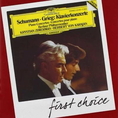 Schumann,Grieg: Piano Concertos [Berliner Philharmoniker Herbert Von Karajan][First Choice Edition]