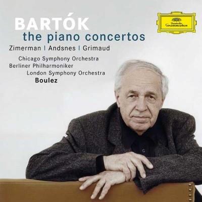 Bartok: The Piano Concertos [Zimerman · Andsnes · Grimaud Chicago Symp. Orch. Berliner Phil.]