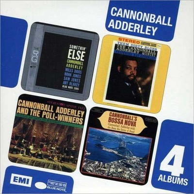 4 Cd Boxset (Somethin' Else/Them Dirty Blues/Cannonball's Bossa Nova/Why Am I Treated So Bad)