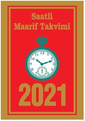 Saatli Maarif 2021 Takvimi Küçük