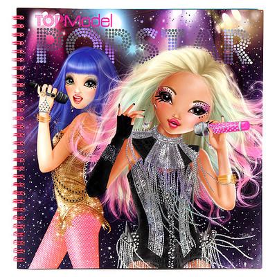 Top Model Popstar Boyama Kitabı - Dk07966