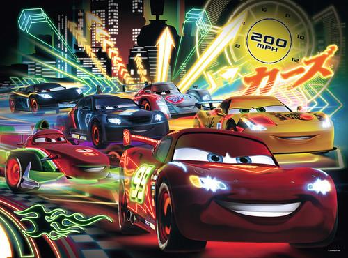 Ravensburger  S100P Puz Wd Cars Neon Rpk105205 105205