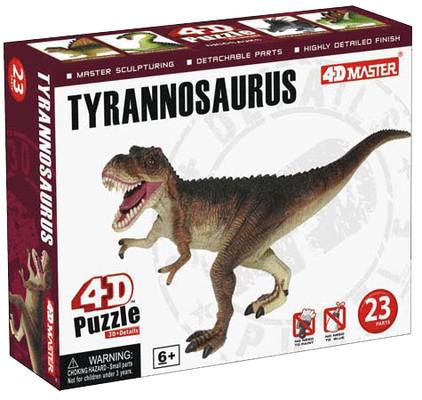 4D Master T Rex 3D Mini Puzzle
