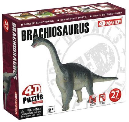 4D Master 3D Brachiosaurus Mini Puzzle