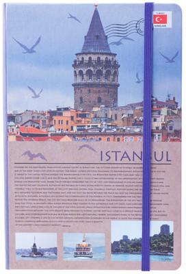 Notelook Travel Around Turkey İstanbul A5 Çizgisiz T001Dfttatıa5A