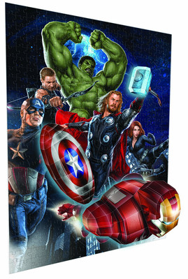 Breakthrough 3D Puzzle The Avengers 50782