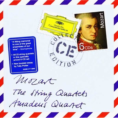 Mozart:The String Quartets [6 Cd]