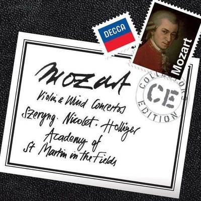 Mozart:Violin & Wind Concertos [Academy Of St Martin In The Fields]