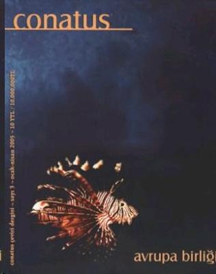 Conatus Çeviri Dergisi Sayı: 3 Avrupa Birliği