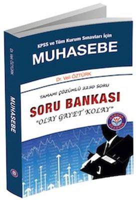 Gerçek Akademi KPSS ve Tüm Kurum Sınavları İçin Muhasebe Tamamı Çözümlü Soru Bankası