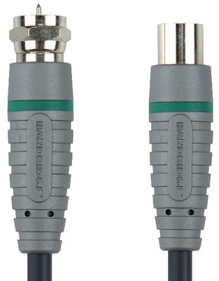 Bandridge BVL9702 F-Connector - Coax Male 2m Satellite Kablo