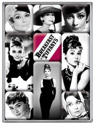 Nostalgic Art Audrey Hepburn Magnet (9 parça) 83040