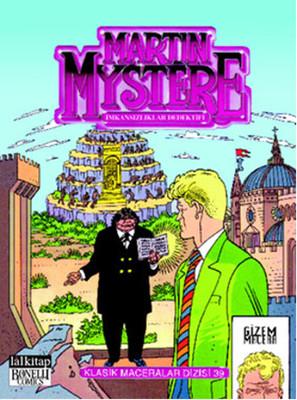 Martin Mystere Klasik M. Dizisi: 39