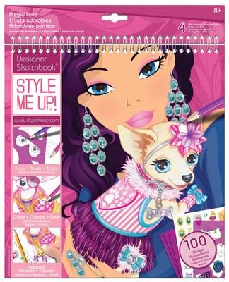 Style Me Up Yavru Köpekler Moda Tasarım Portfolyo Lty1431
