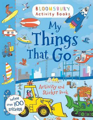 My Things That Go! Activity and Sticker Book (Activity Books for Boys)
