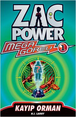Zac Power Mega Görev Serisi 1 - Kayıp Orman