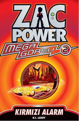 Zac Power Mega Görev Serisi 2 - Kırmızı Alarm