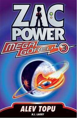 Zac Power Mega Görev Serisi 3-Alev