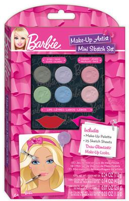 Fashion Angels Barbie Mini Tasarim Defteri - Makyaj Tasarimi Lty22304