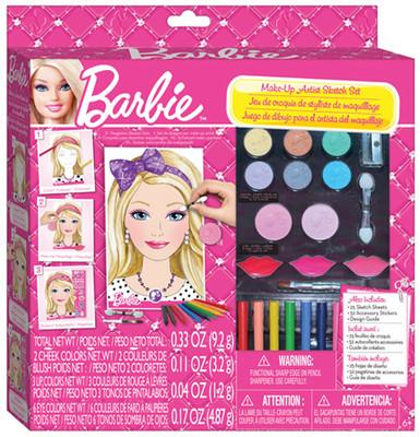 Fashion Angels Barbie Tasarim Seti - Artistik Makyaj Lty22280