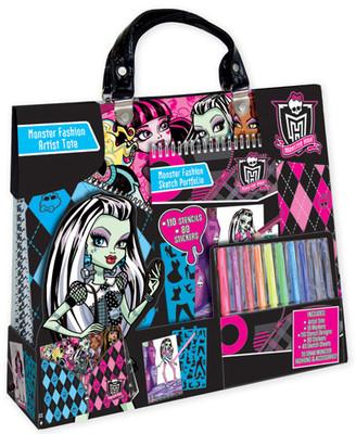 Fashion Angels Monster High Çantali Moda Tasarim Sanat Seti Lty64012