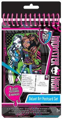 Fashion Angels Monster High Kadife Kartpostal Seti Lty64028