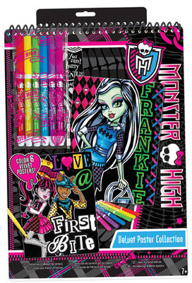 Fashion Angels Monster High Kadife Poster Koleksiyonu Lty64026