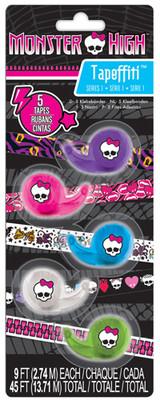 Fashion Angels Monster High Tapeffiti Bant 5'Li Paket Lty64044