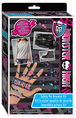 Fashion Angels Monster High Trendy Aksesuar Tasarim Seti Lty64069