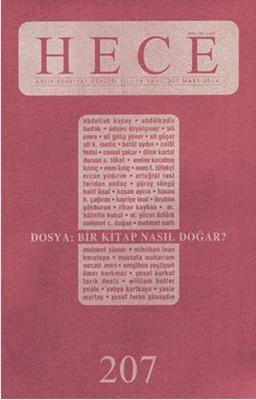 Hece Aylık Edebiyat Dergisi Sayı: 207