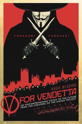 V For Vendetta One Sheet Fp2713