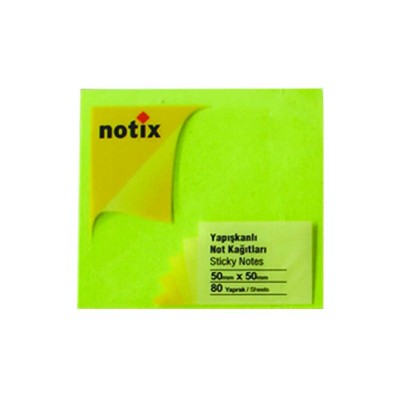 Notix Neon Yesil 80 Yp 50X50 N-Ny-5050 - 51007737