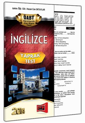 Yargı KPSS ÖABT İngilizce Yaprak Test 2014