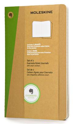 Moleskine Evernote Smart Ruled Journal Large Notebook (Çizgili)