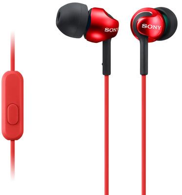 Sony MDREX110APR Kırmızı Kulak İçi Kulaklık