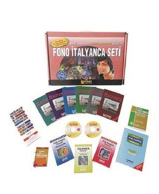Fono İtalyanca Seti (13 Kitap + 6 Cd)