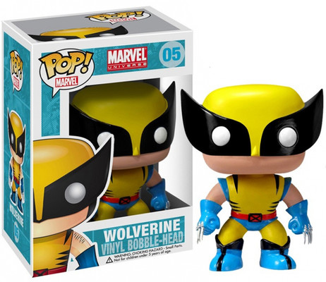 Funko Pop Marvel (Bobble): Wolverine