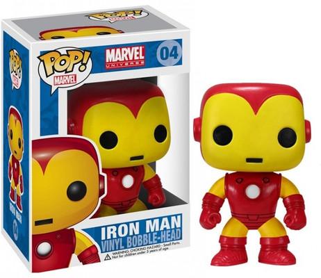 Funko Pop Marvel (Bobble): Iron Man
