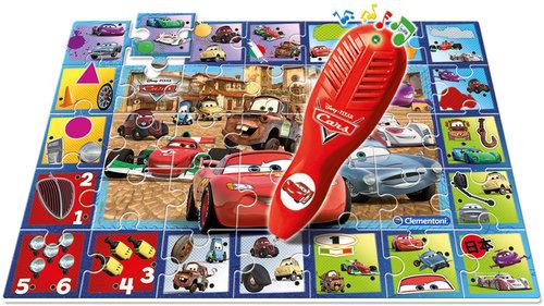 Clementoni Interactive Quiz Interactive Quiz Puzzle Bilgi Yarismasi Cars 13836
