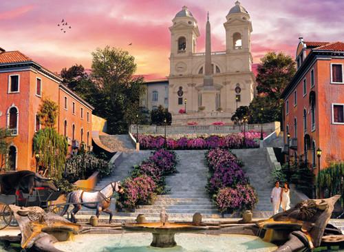 Clementoni 1000 Parça Puzzle Romantik Italya - Roma 39219.3