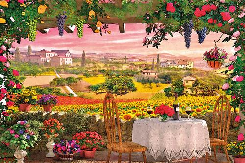 Clementoni 1000 Parça Puzzle Romantik Italya - Toscana  39260.5