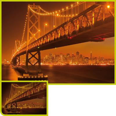 Clementoni 1000 Parça Floresan Puzzle - San Francisco 39175.2