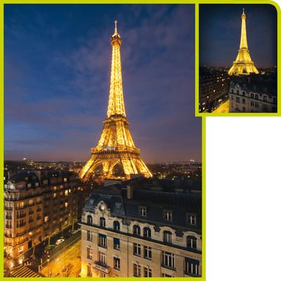 Clementoni 1000 Parça Floresan Puzzle - Paris 39210.0