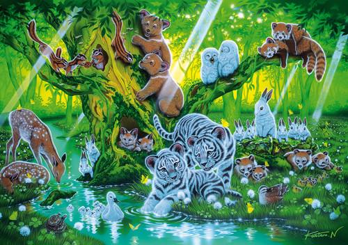 Clementoni 1000 Parça Floresan Puzzle - Mother Tree 39262.9