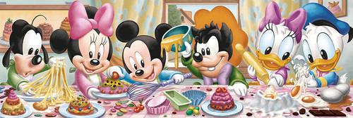Clementoni 1000 Parça Puzzle Disney Panorama - Disney Babies 39263.6