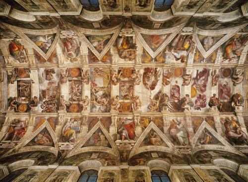 Clementoni 1000 Parça Puzzle Michelangelo - Volta Della Cappella Sistina 39225.4