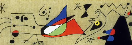 Clementoni 1000 Parça Puzzle Mirò - Femme Et Oiseau Dans La Nuit 39264.3