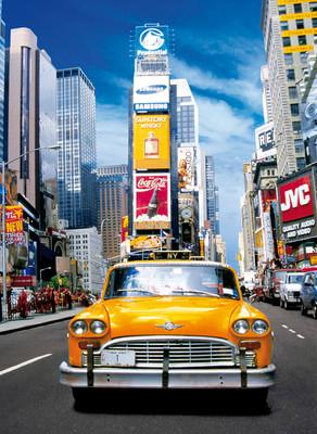 Clementoni 500 Parça Puzzle Taxi In Time Square 30338.0